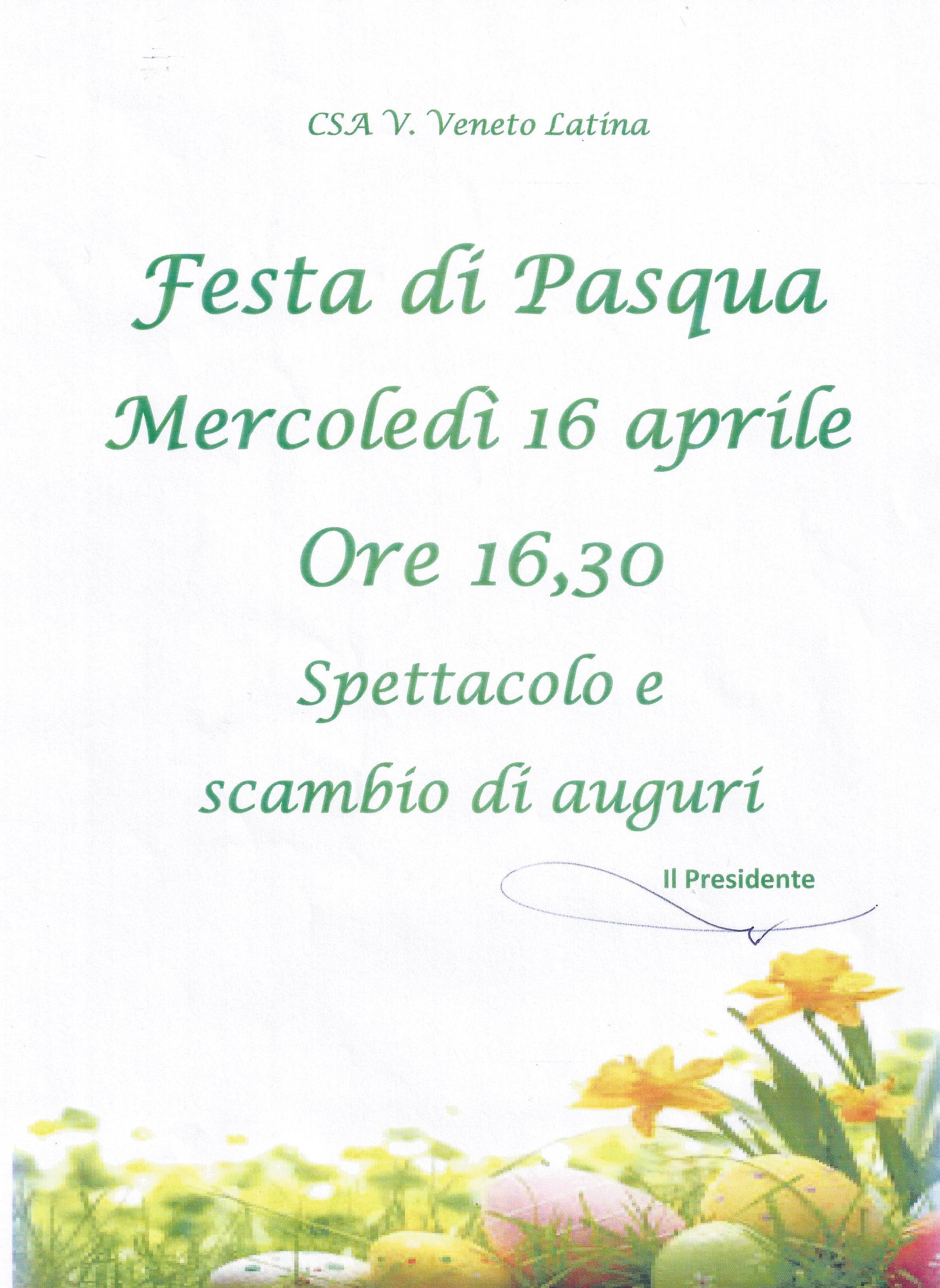 Festa di Pasqua 2