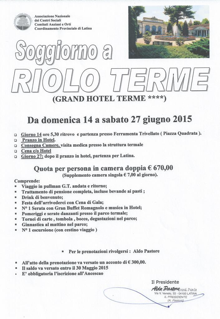 Riolo Terme a