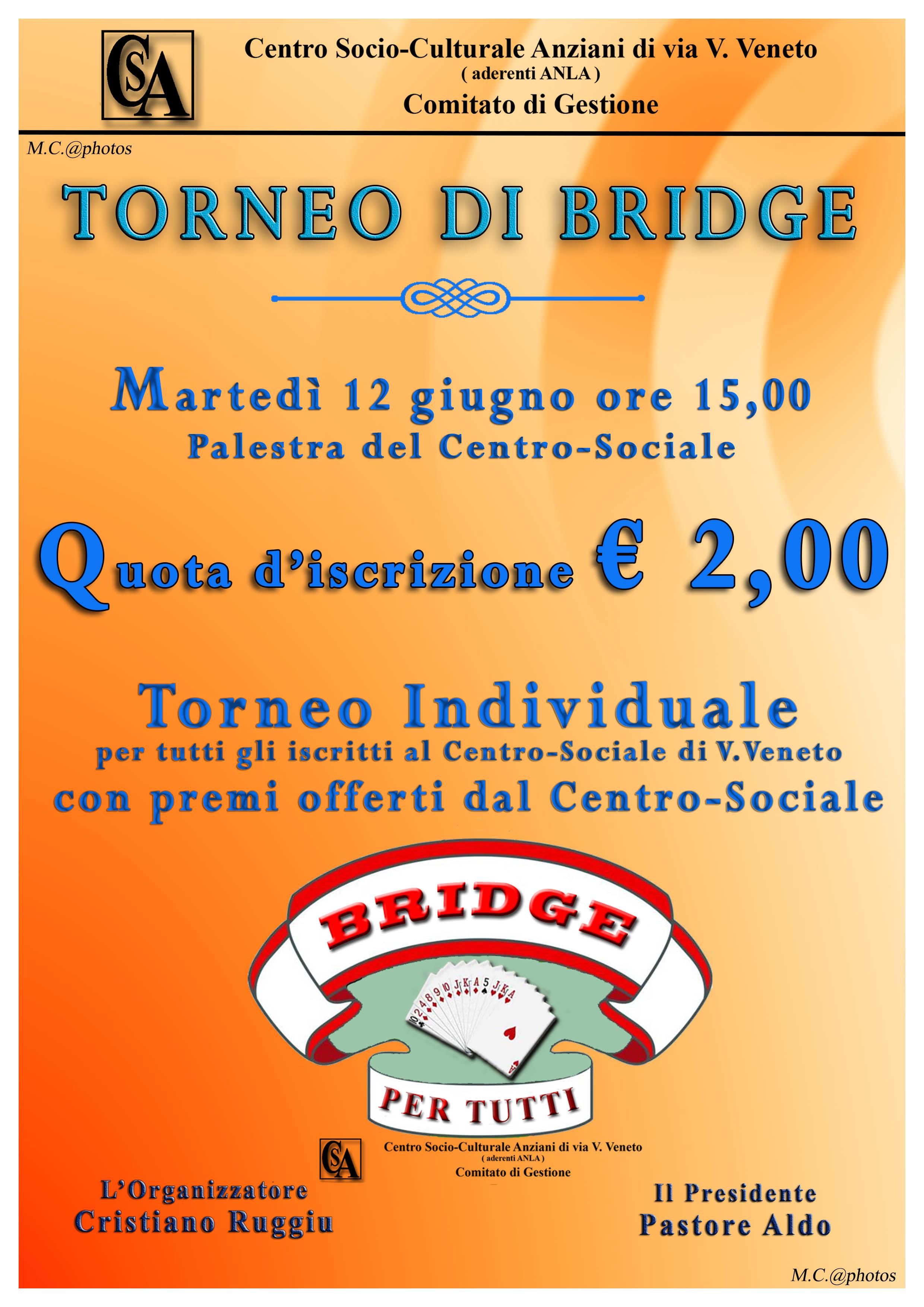 TORNEO DI BRIDGElow